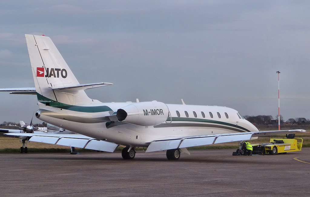Cessna 680 Citation Sovereign, M-IMOR<br /> By Correne Calow