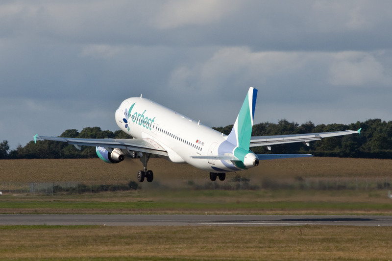 Orbest A320 CS-TRL.<br /> By David Bladen.