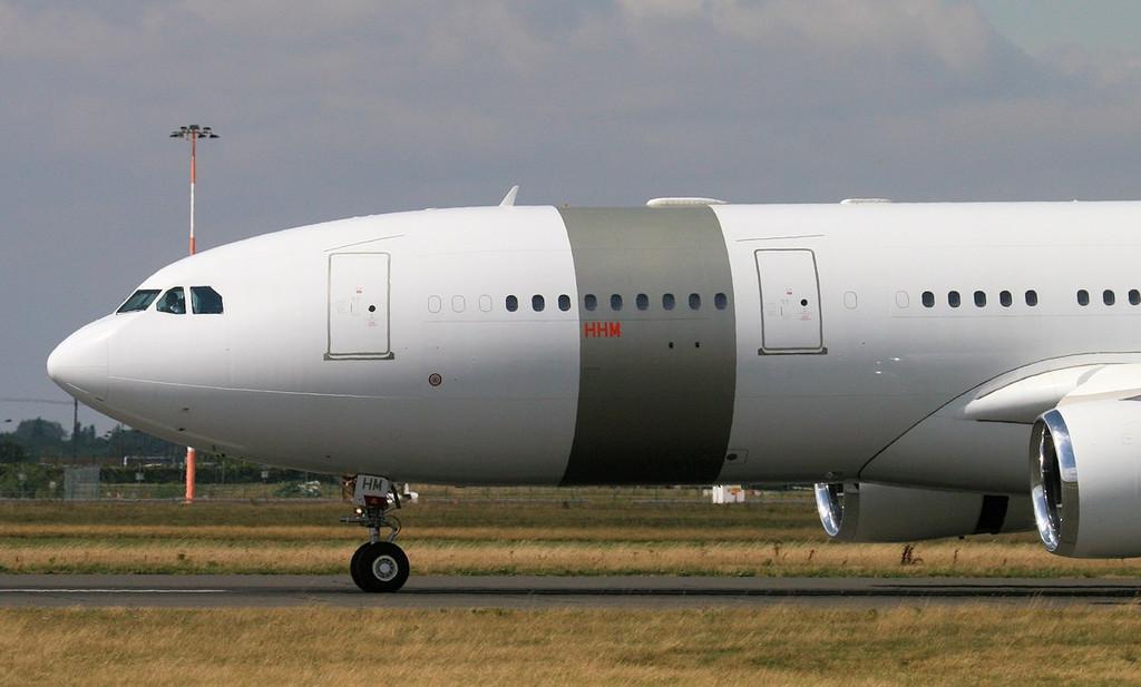 Qatar Amiri Flight Airbus A330-200, A7-HHM<br /> By Jim Calow.