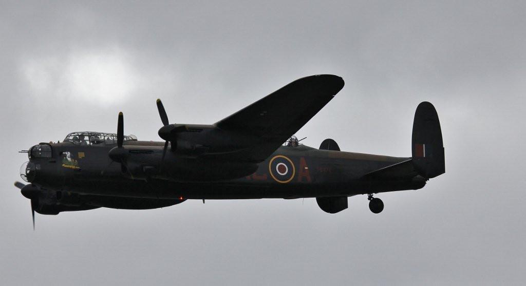 BBMF Lancaster PA474<br /> By Steve Roper.