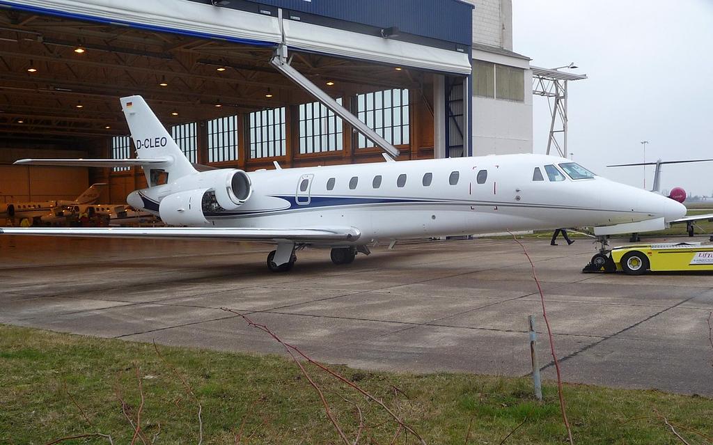 Air X Cessna 680 Citation Sovereign, D-CLEO <br /> By Correne Calow.