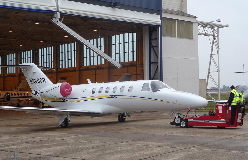 Cessna 525 CitationJet CJ1, N380CR<br />  By Correne Calow.