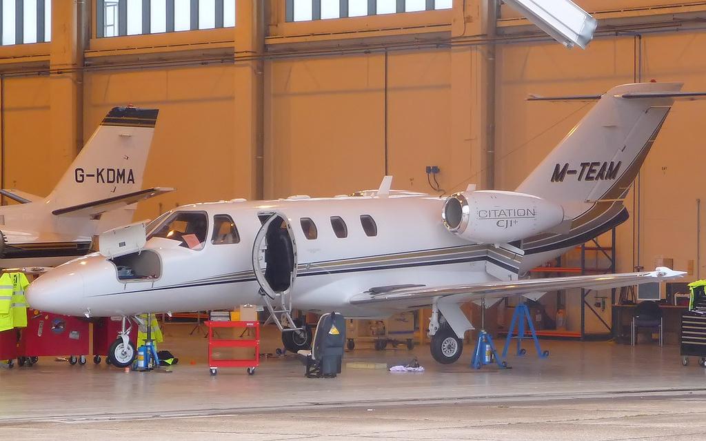 Cessna 525 CitationJet CJ1+, M-TEAM <br /> By Correne Calow.