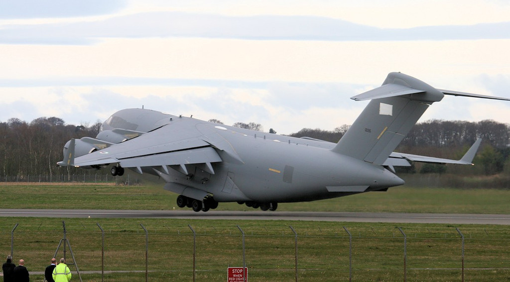 United Arab Emirates Air Force C-17, 1226<br /> By Jim Calow.
