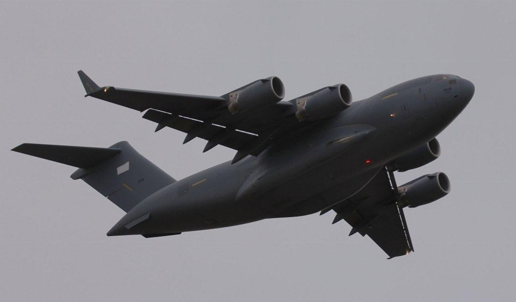 United Arab Emirates Air Force C-17, 1226<br /> By Steve Roper.