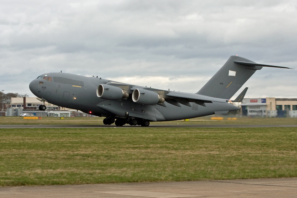 United Arab Emirates Air Force C-17, 1226<br /> By David Bladen.