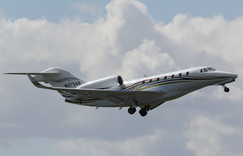 Cessna 750 Citation X ,N373AB <br /> By Correne Calow.