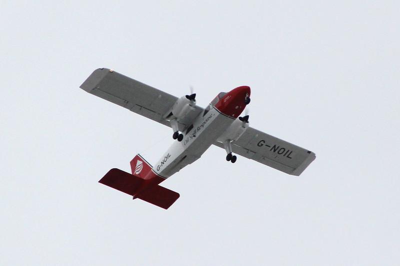 Britten-Norman BN-2A-26 Islander, G-NOIL,<br /> By Clive Featherstone.