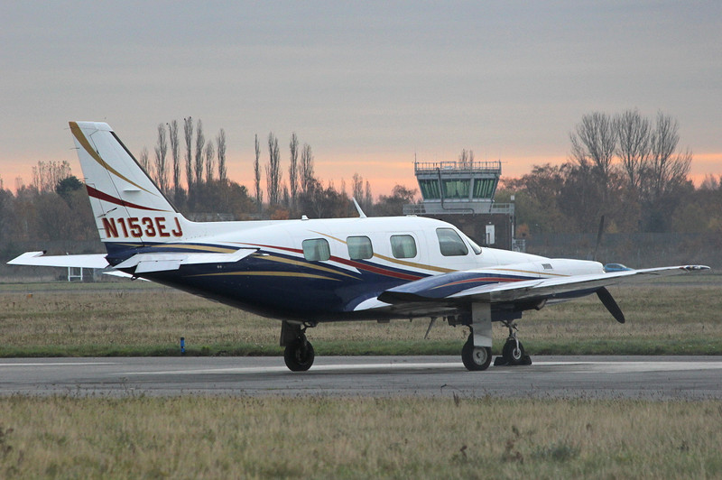 Piper PA-31P-350 Mojave, N153EJ <br /> By Clive Featherstone.