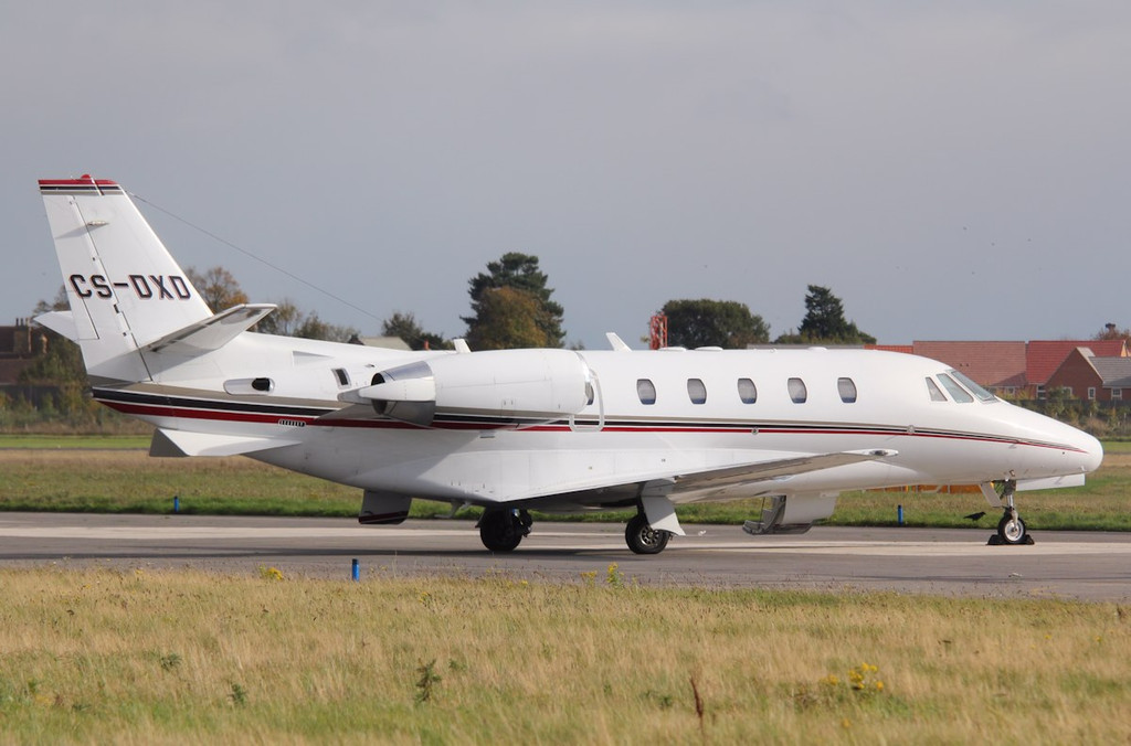 Netjets Europe, Cessna 560XLS Citation Excel, CS-DXD<br /> By Correne Calow.