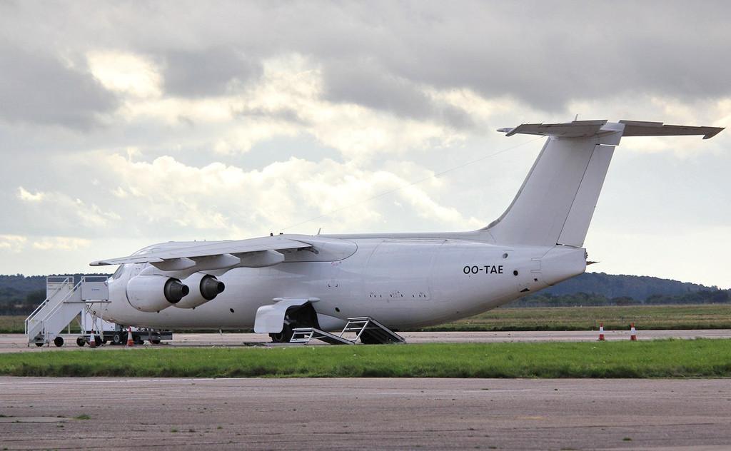 BAe 146-300QT, OO-TAE<br /> By Correne Calow.