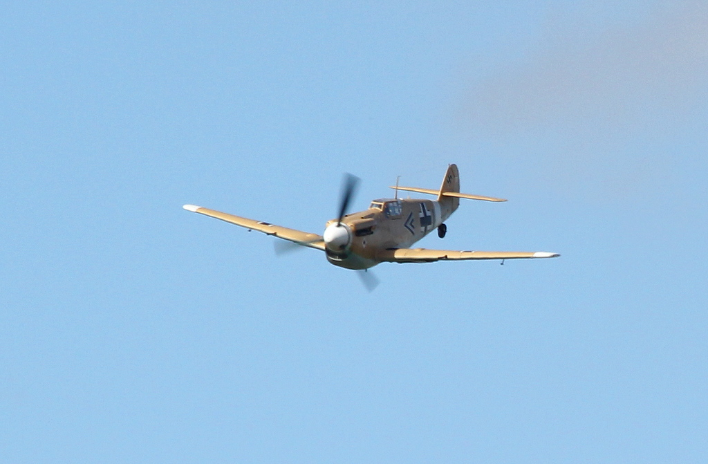 Hispano HA.1112-M1L Buchon G-AWHE<br /> By Clive Featherstone.