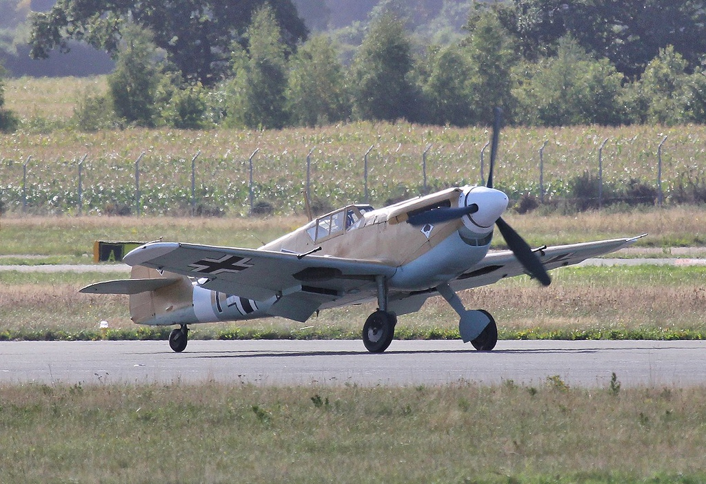 Hispano HA.1112-M1L Buchon G-AWHE<br /> By Steve Roper.