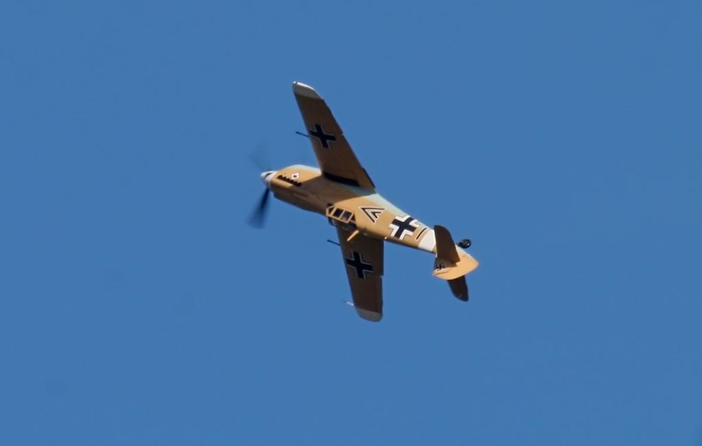 Hispano HA.1112-M1L Buchon G-AWHE<br /> By Jim Calow.