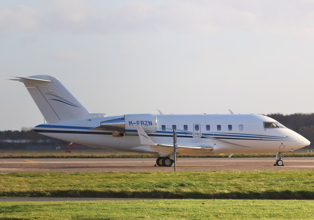 Iceland Foods, Bombardier Challenger 605, M-FRZN <br /> By Correne Calow.