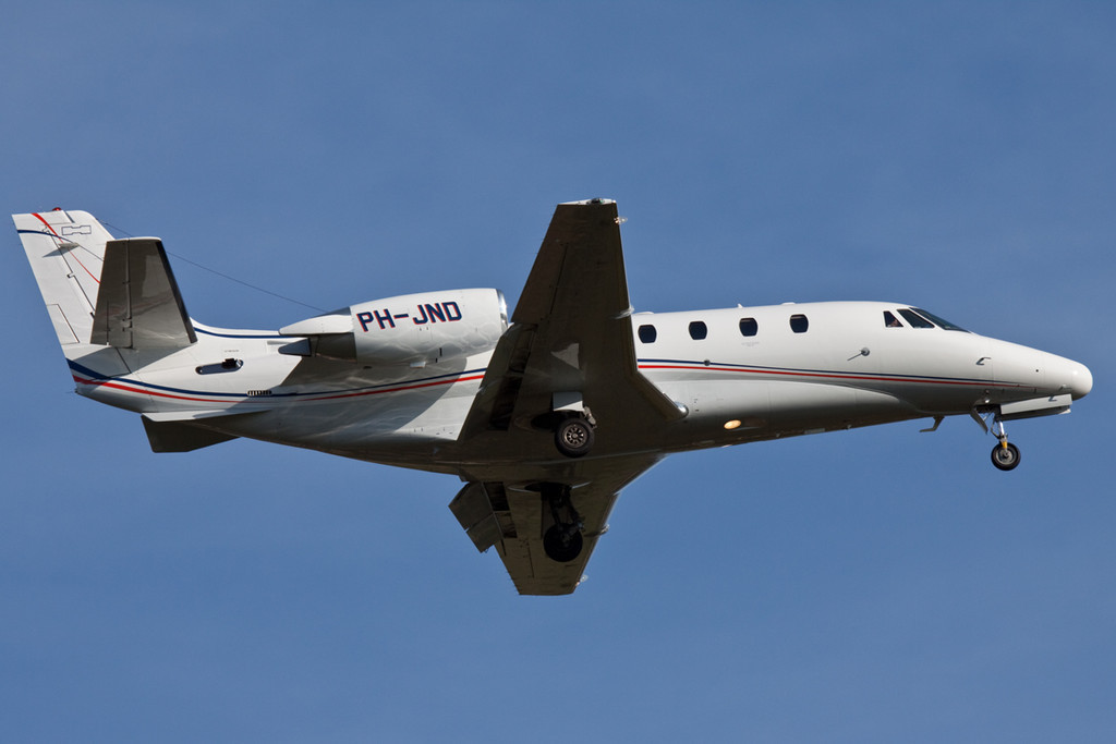JetNetherlands,  Cessna 560XL Citation XLS, PH-JND<br /> By David Bladen.