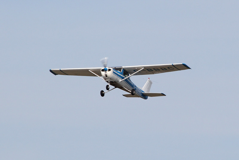 Doncaster Flying School, Reims Cessna F150L, G-BBBC.<br /> By Clive Featherstone.