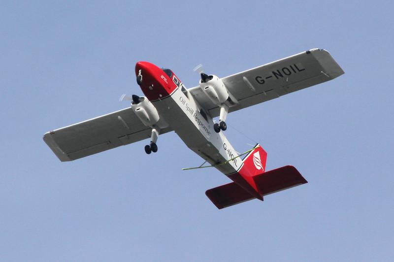 Britten-Norman BN-2A-26 Islander, G-NOIL<br /> By Clive Featherstone.
