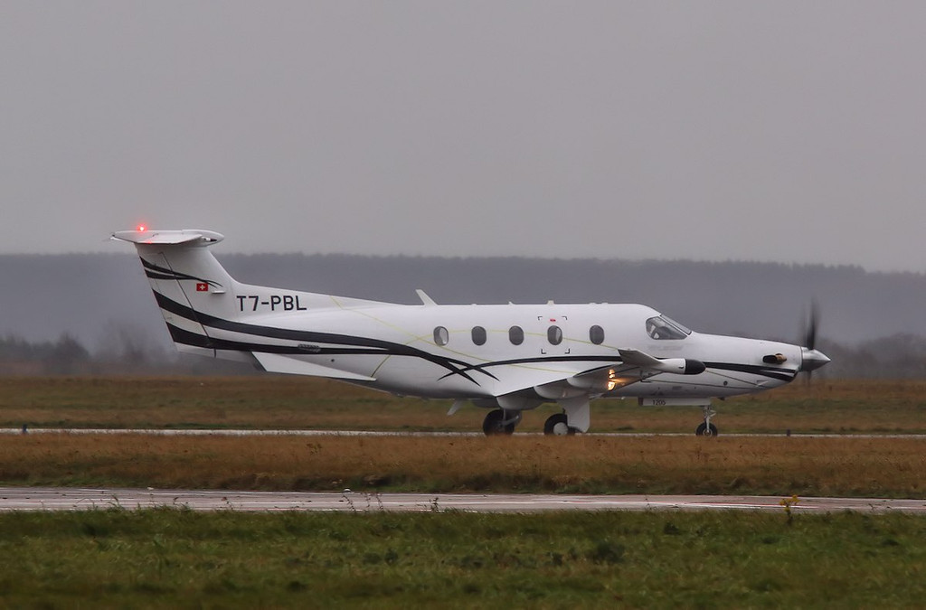 Fly 7 Executive Aviation, Pilatus PC-12, T7-PBL<br /> By Correne Calow.