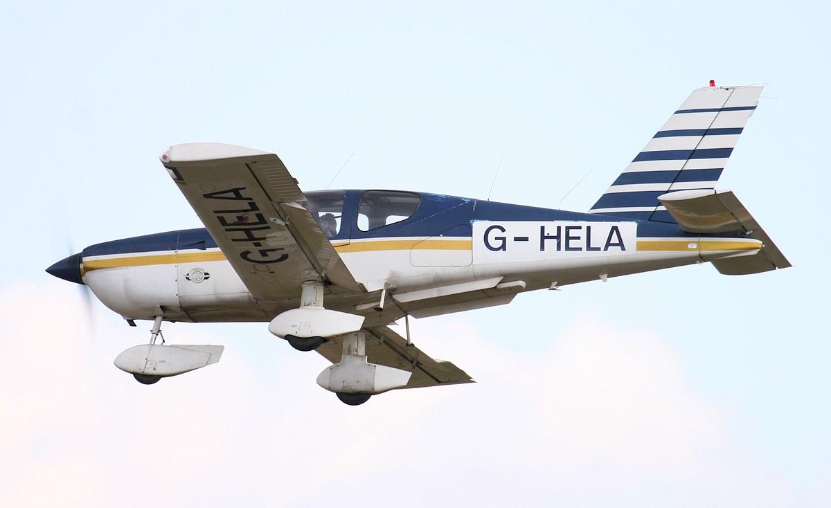 To be based at DSA.......Socata TB-10 Tobago, G-HELA.<br /> By Jim Calow.