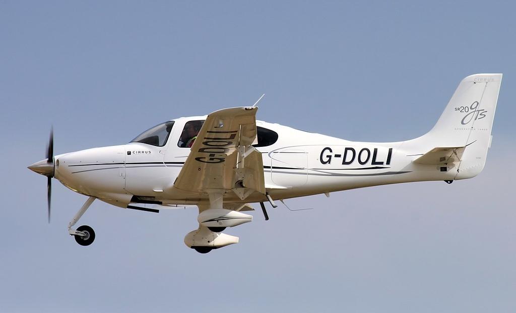 Cirrus SR-20 GTS, G-DOLI.<br /> By Jim Calow.