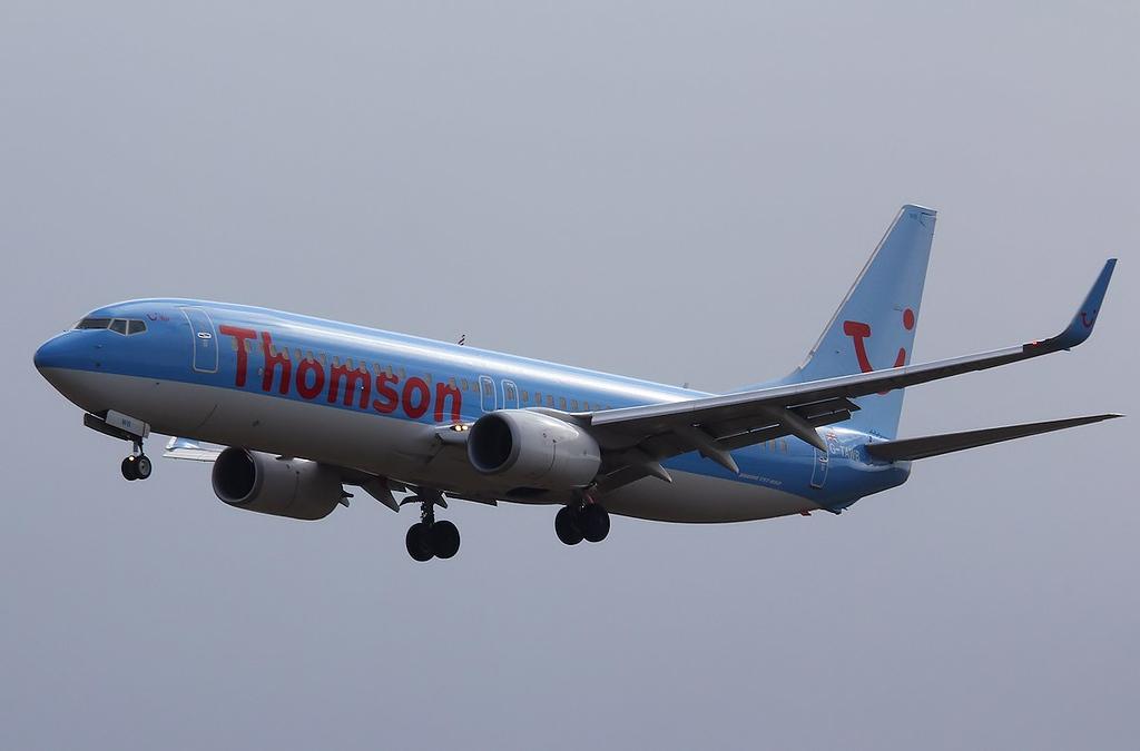 Thomson Airways 737-800, G-TAWB<br /> By Correne Calow.