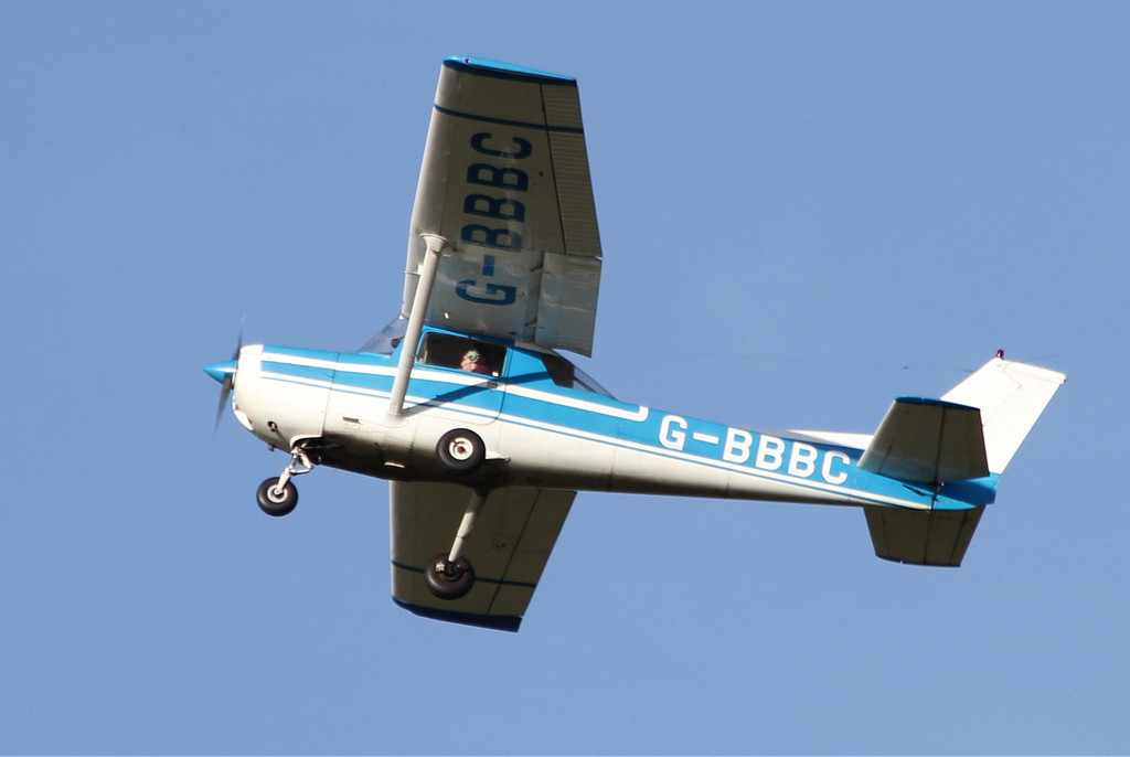 Resident Reims Cessna F150L, G-BBBC<br /> By Clive Featherstone.