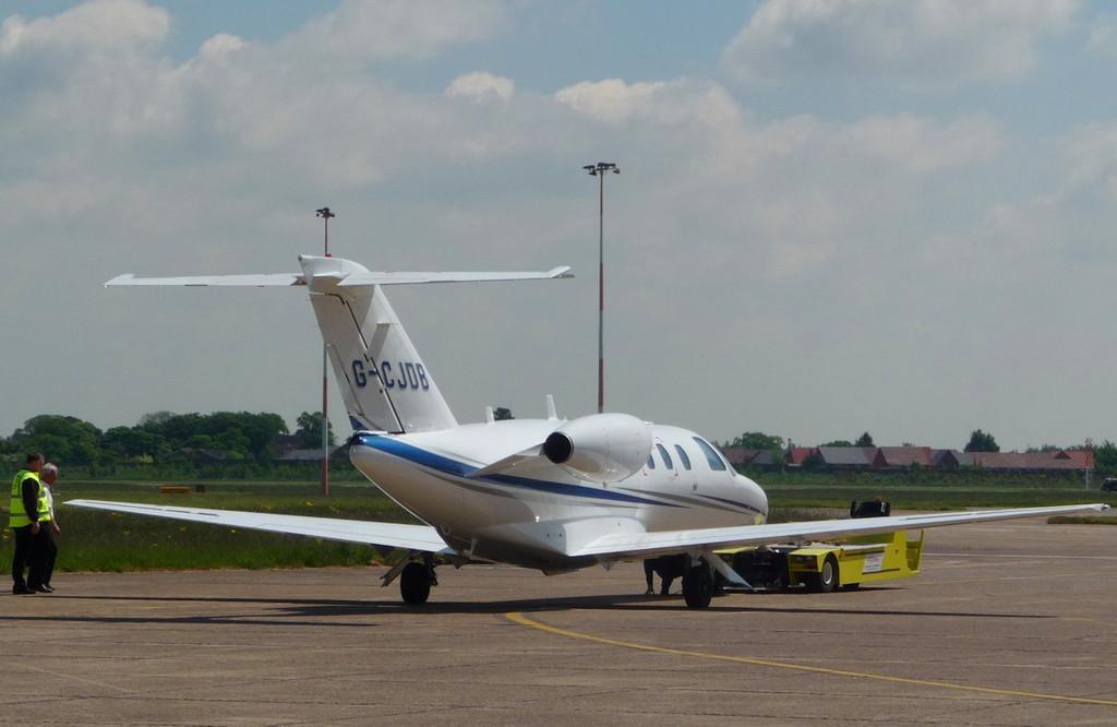 Breed Aircraft Ltd, Cessna 525 CitationJet CJ, G-CJDB<br />  By Correne Calow.