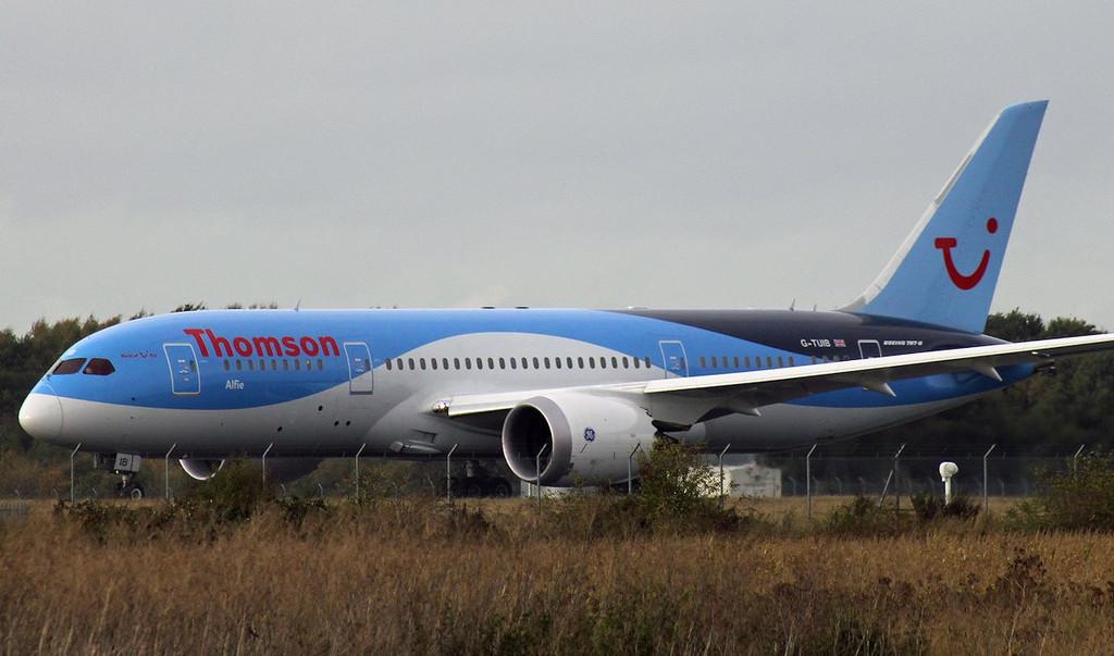 Thomson Airways 787-800, G-TUIB  (Alfie)<br /> By Graham Vlacho.