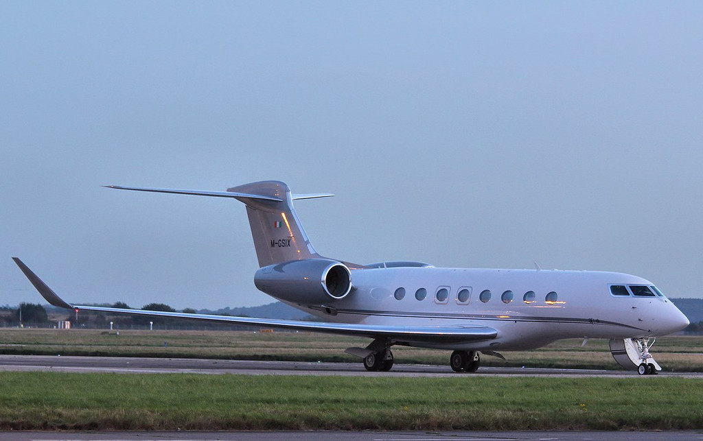 Gulfstream G650, M-GSIX<br /> By Correne Calow.
