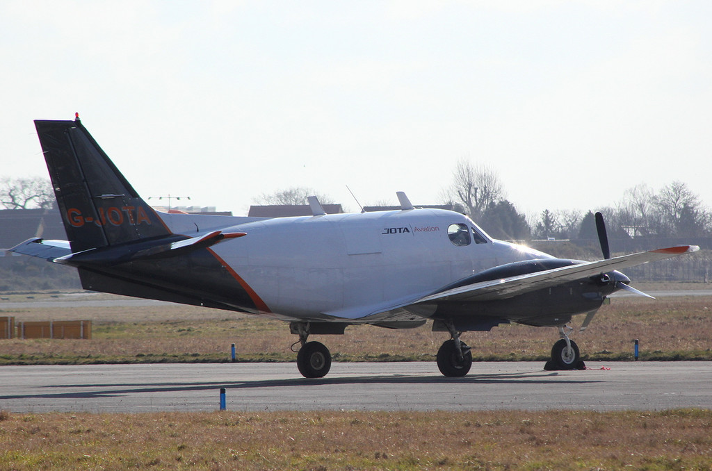 Jota Aviation Beech 90 King Air, G-JOTA<br /> By Clive Featherstone