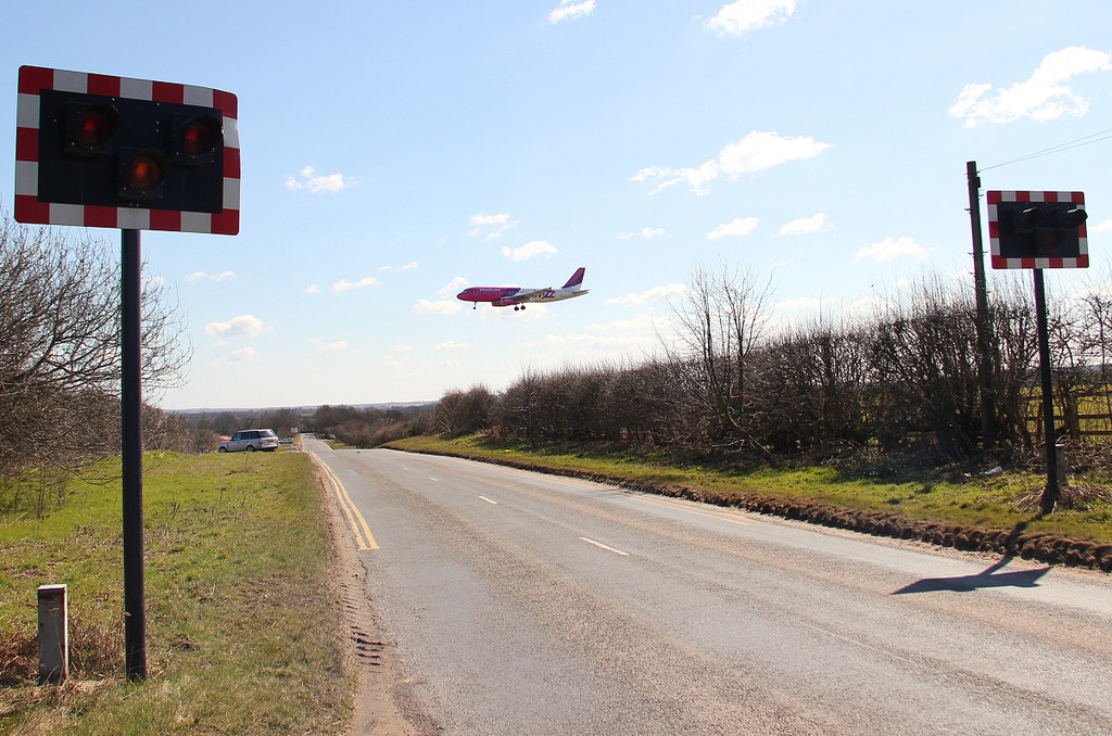 Wizz Air A320-232, HA-LWP<br /> By Clive Featherstone.
