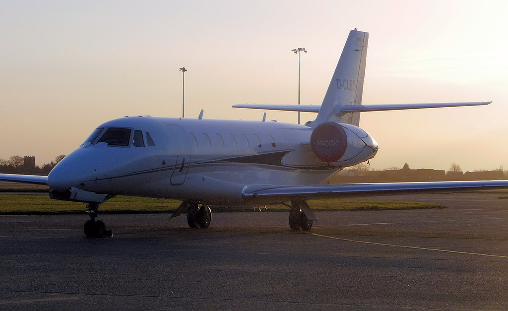 Cessna 680 Citation Sovereign c/n 680-0178,  D-CLEO<br /> By Correne Calow.