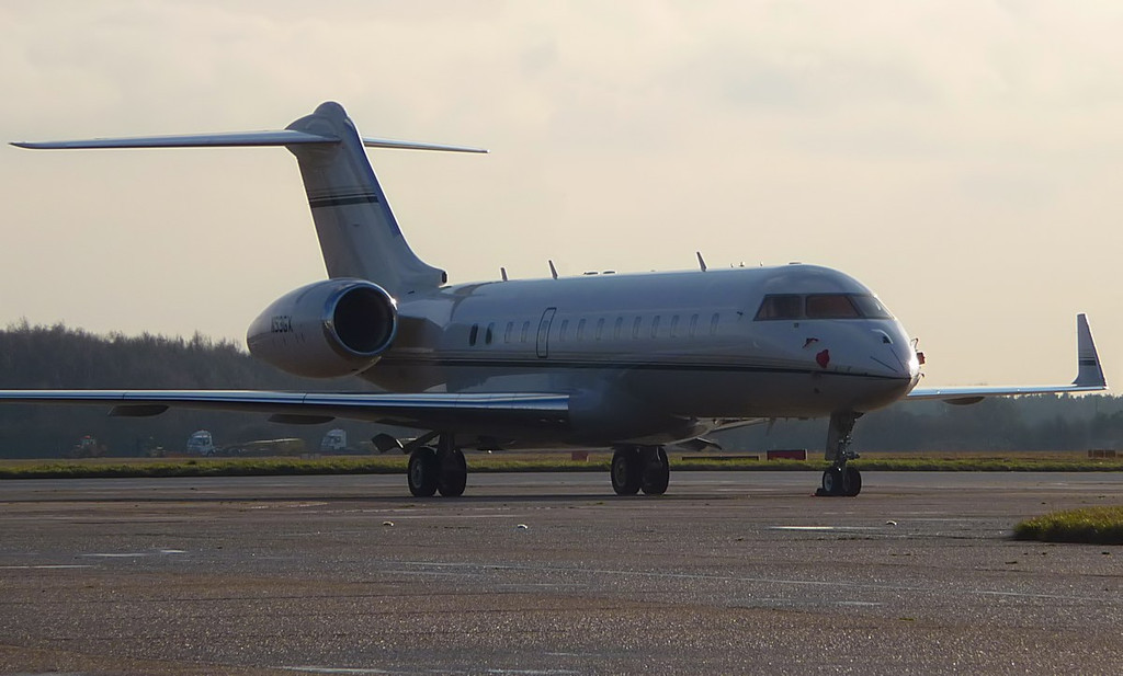Global Express BD-700 N53GX<br /> By Correne Calow.