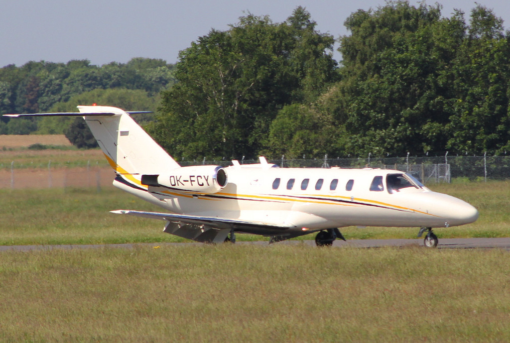 Cessna 525A Citation CJ2, OK-FCY<br /> By Clive Featherstone.