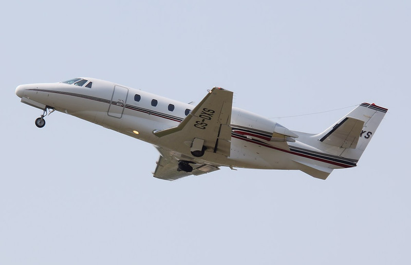 Netjets Europe, Cessna 560XLS Citation Excel, CS-DXS<br /> By Correne Calow.