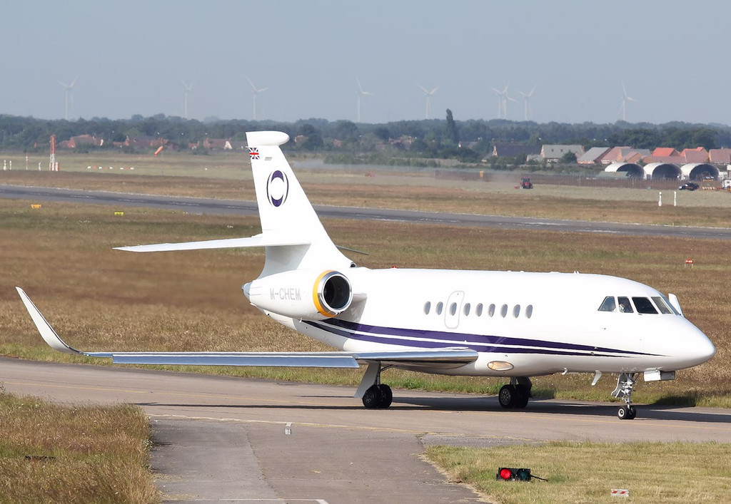 Ineous Aviation, Dassault Falcon 2000EX, M-CHEM<br /> By Correne Calow.