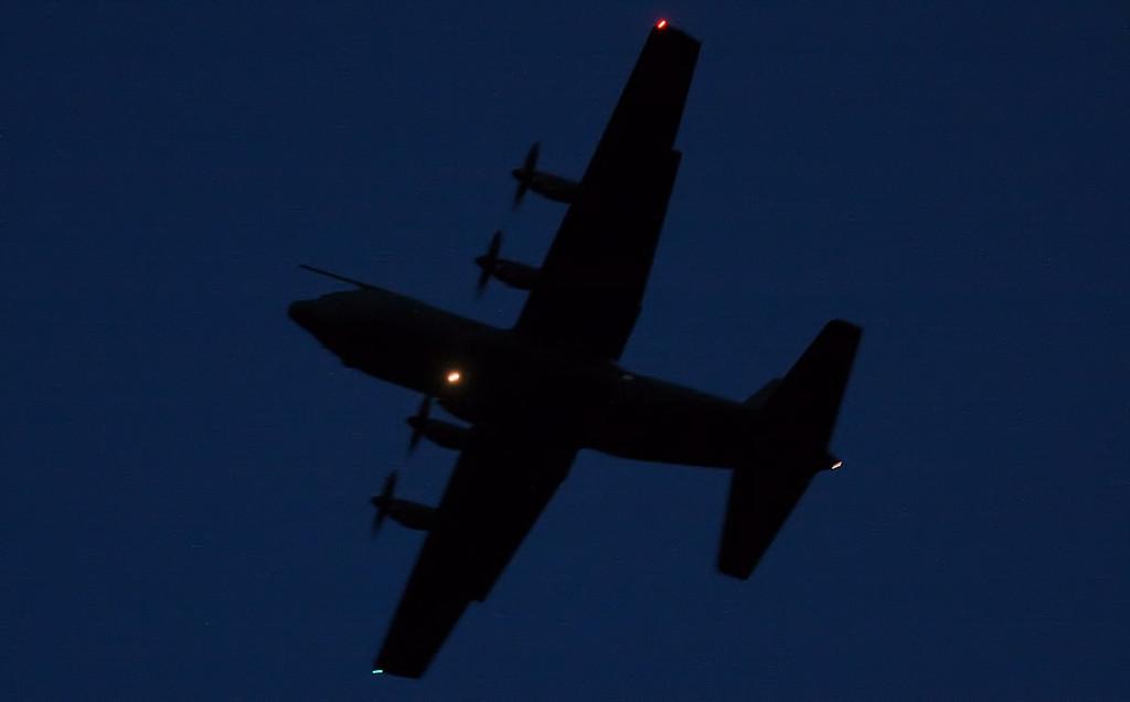 C-130J Hercules C5, ZH889 overshoots<br /> By Jim Calow.