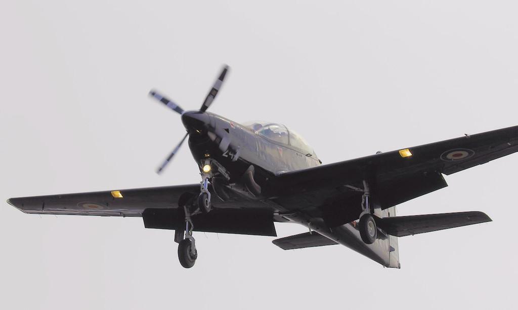 RAF Tucano T1, ZF244<br /> By Steve Roper.