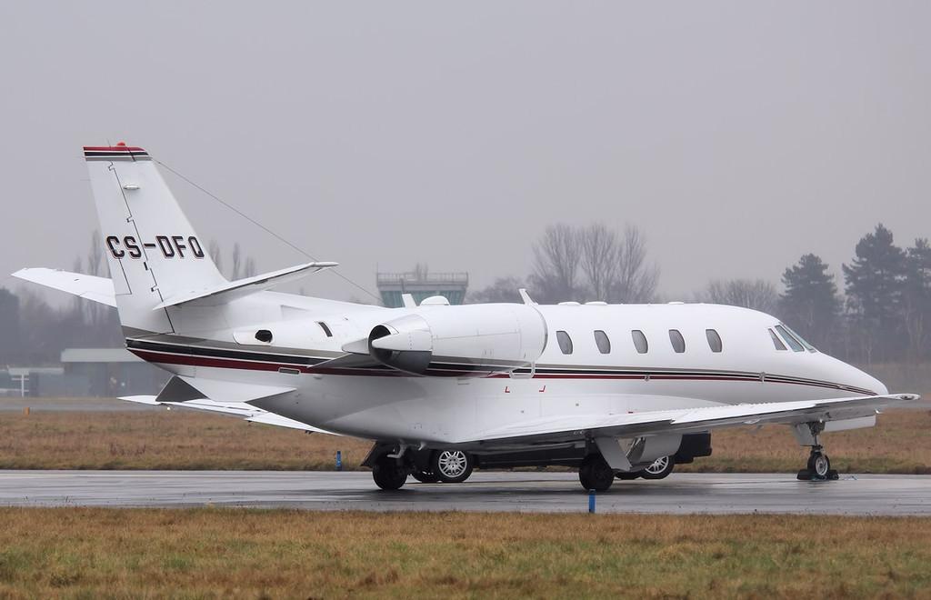Netjets Europe Cessna 560XL Citation Excel, CS-DFQ<br /> By Correne Calow.