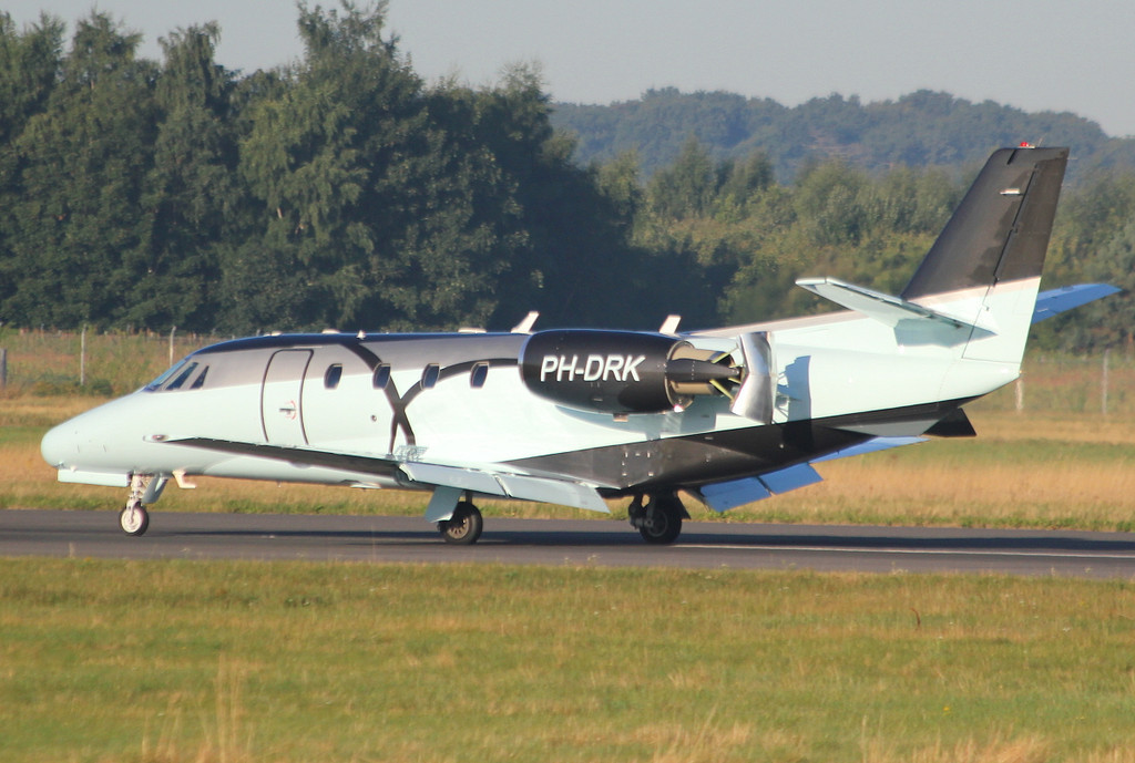 JetNetherlands, Cessna 560XL Citation Excel, PH-DRK<br /> By Clive Featherstone.