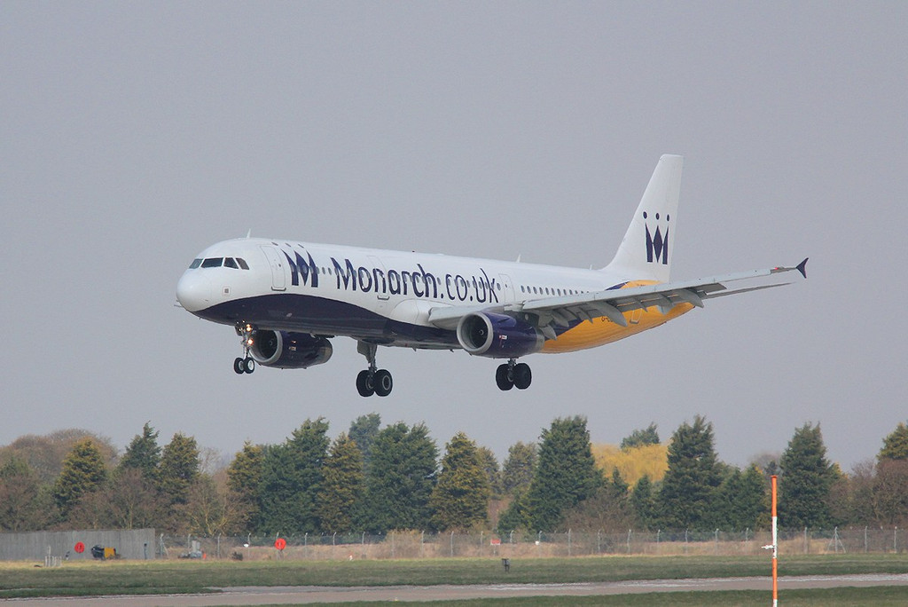 Monarch Airlines Airbus A321-231, G-OZBT<br /> By Correne Calow.