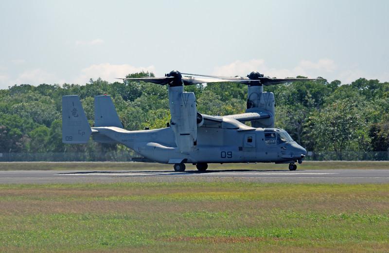 168032 USMC  MV-22B OSPREY