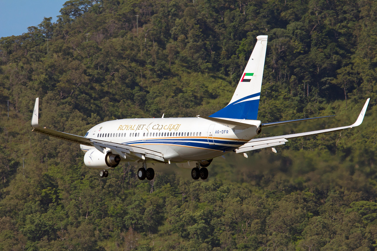 A6-DFR ROYAL JET B737-700 BBJ