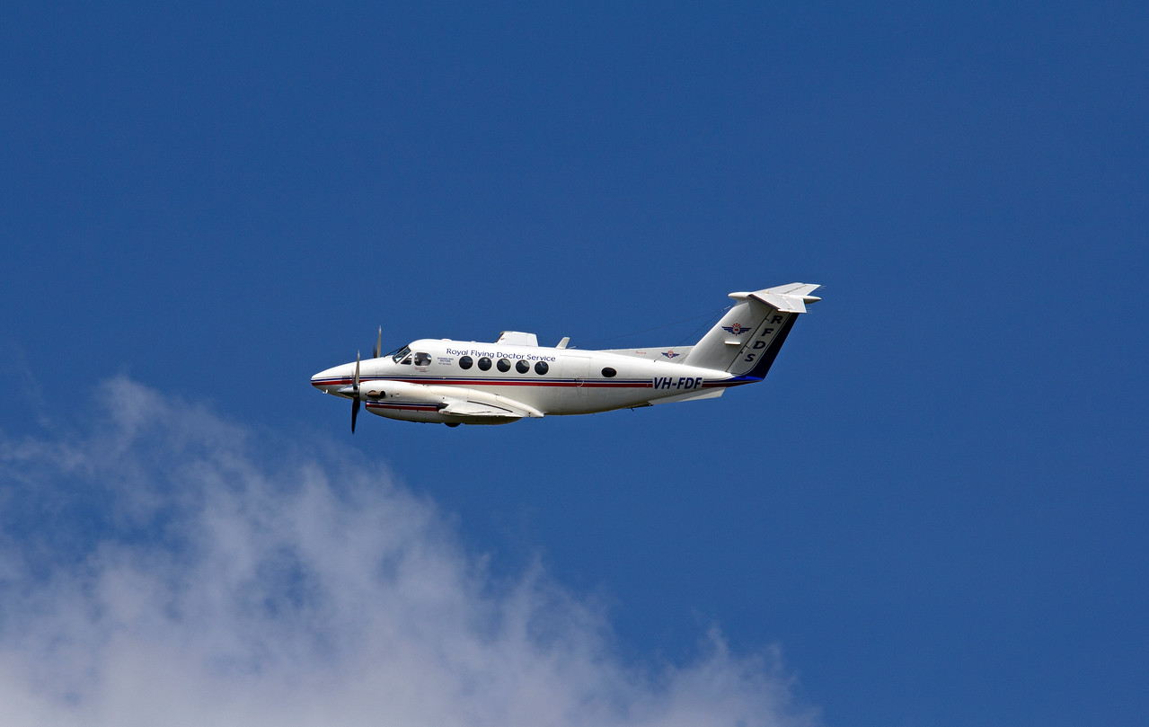 VH-FDF RFDS KING AIR