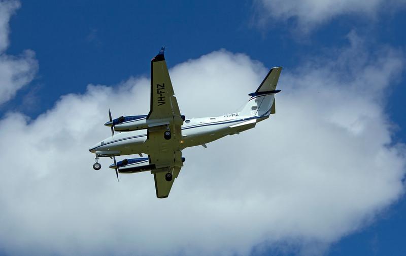 VH-FIZ AIR SERVICES AUSTRALIA KING AIR