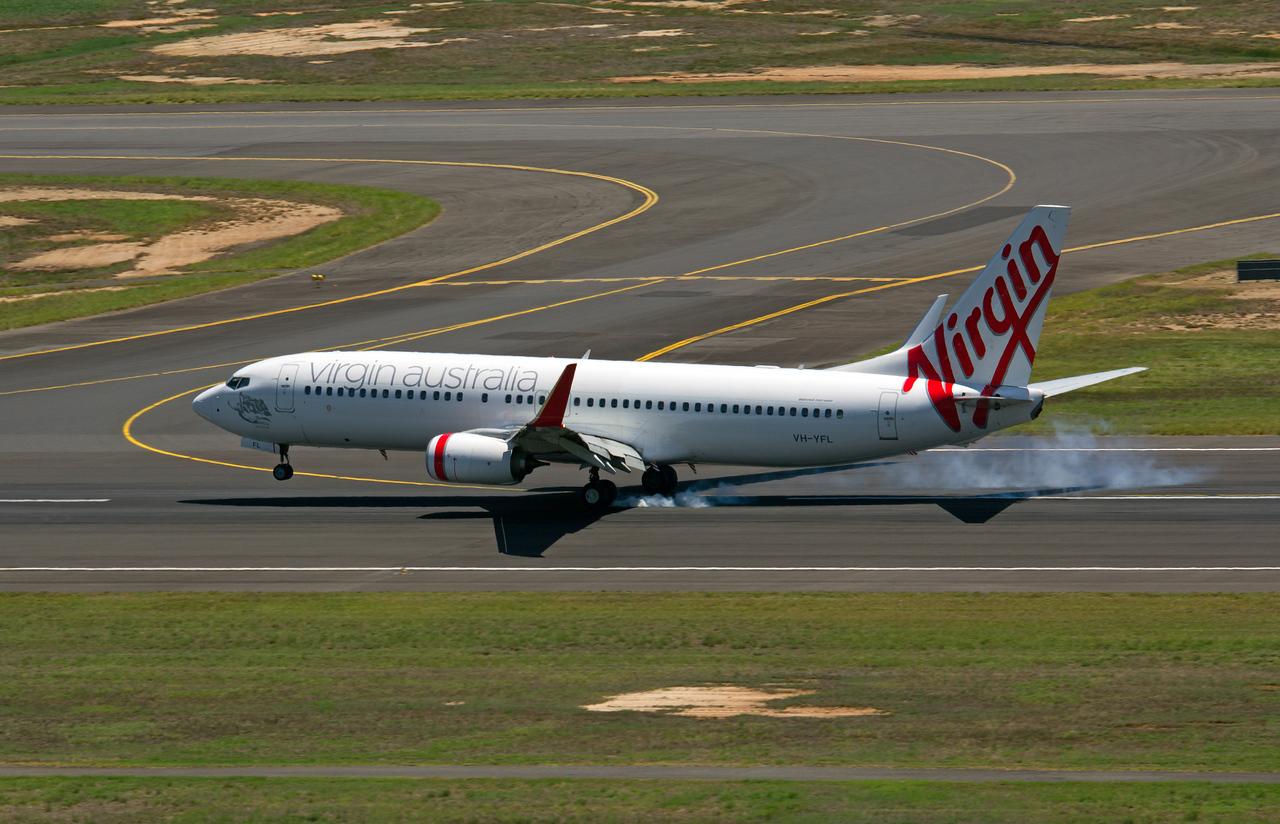 VH-YFL VIRGIN AUSTRALIA B737-800
