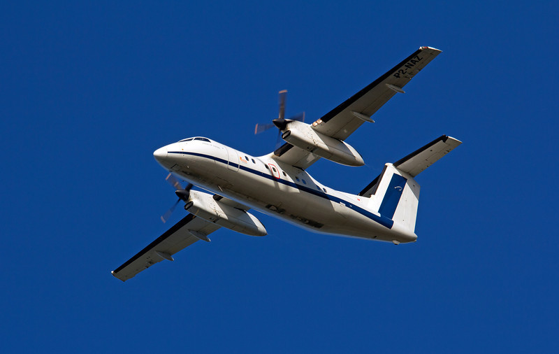 P2-NAZ ASIA PACIFIC AIRLINES DASH-8-100