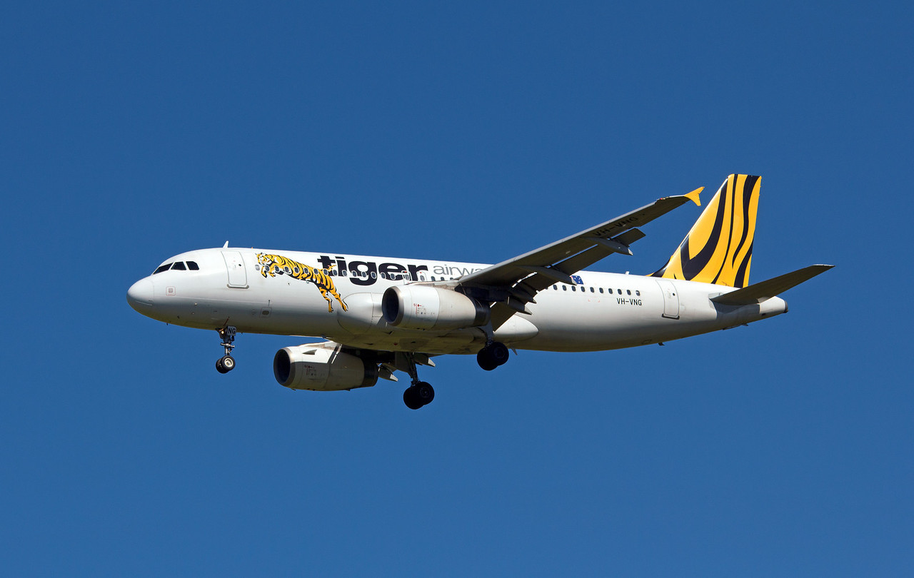 VH-VNG TIGER AIRWAYS A320