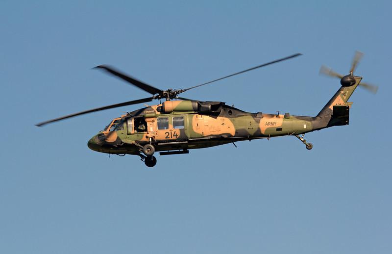 A25-214 AUSTRALIAN ARMY BLACKHAWK